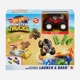 Hot Wheels Monster Trucks Ecl Carsplosion Playset Toy For Boys