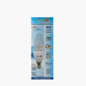Omni LED Lite Candle Bulb 4W Cool Daylight