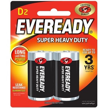 Eveready D Battery (2s)