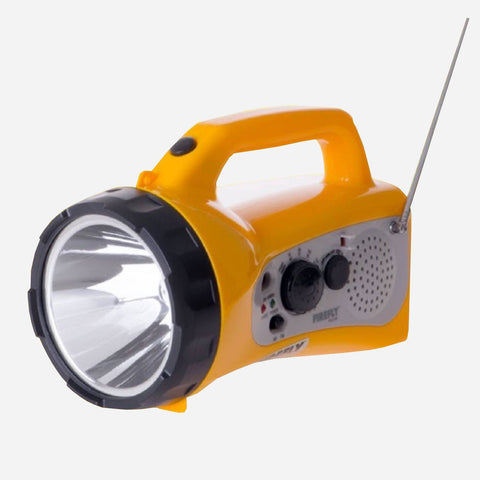 Surplus Firefly LED Torch Lamp With AM/FM Radio