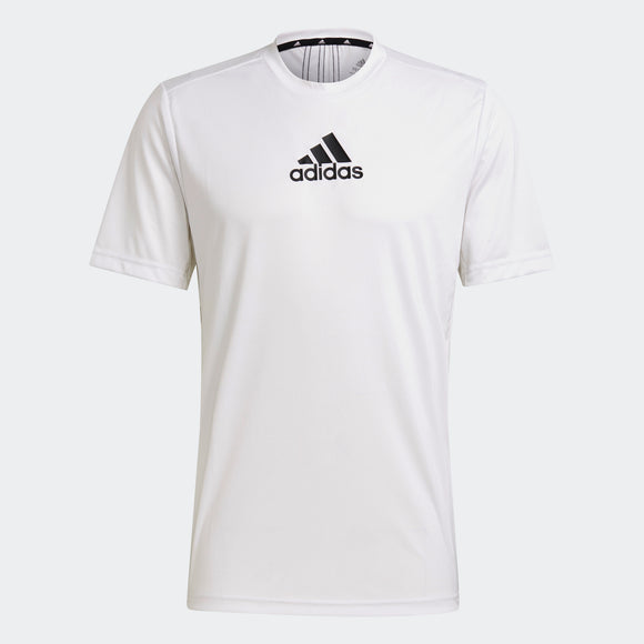 ADIDAS PRIMEBLUE DESIGNED TO MOVE 3-STRIPES TEE GM2135