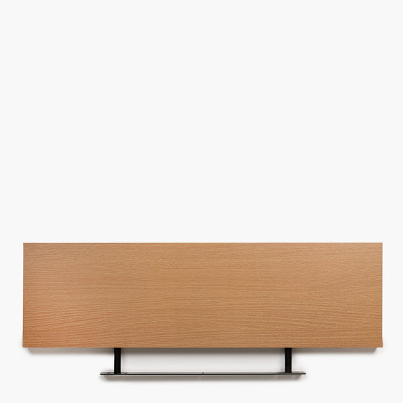 Modern Lifestyle Board Shelf 80cm - Beech