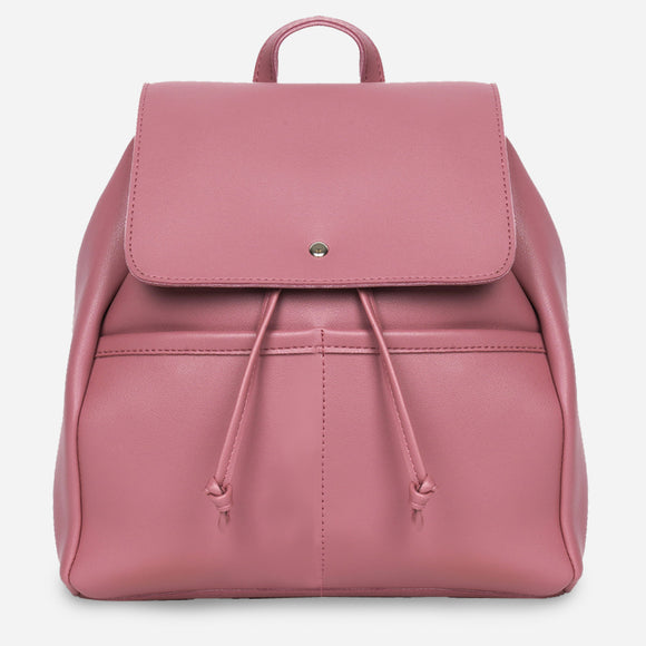 Parisian Dahlia Backpack in Old Rose