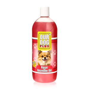 Our Dog Shampoo Rose & Jasmine Oil 1L
