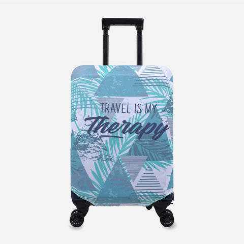 Travel Basic Printed Luggage Cover