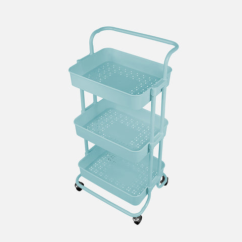 Stationery Organizer Trolley Lt. Blue