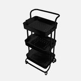 Stationery Organizer Trolley Black