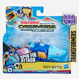 Transformers Cyberverse 1 Step Spin Fin Attack Skybyte Toy For Boys