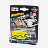 Maisto Alarmbusters Light And Sound   Ambulance Vehicle Toy For Boys