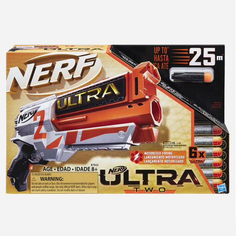 Nerf Ultra Two Motorized Firing Blaster Toy For Boys