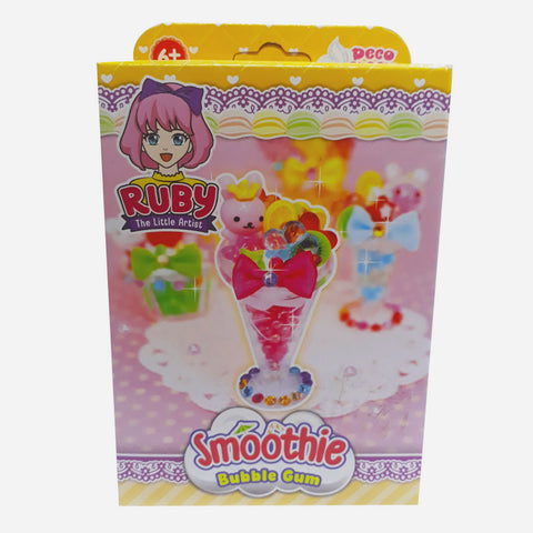 Smoothie Bubble Gum Toy For Girls
