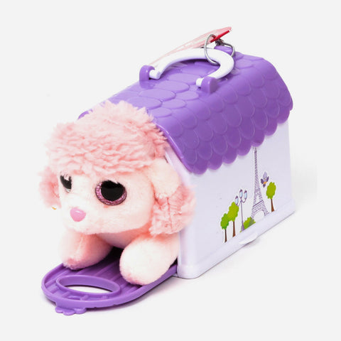 Zoopy Club Igloo Little Puppy Plush Lavander For Kids