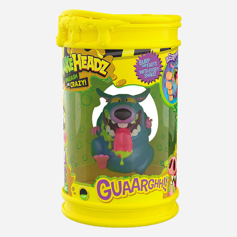 Shakeheadz Crazy Pets Grimey Gus Toy For Kids