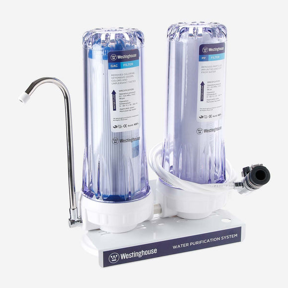 Westinghouse 2-Stage Water Filter System WWWPS105A2