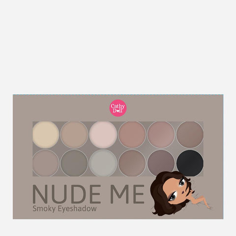Cathy Doll Nude Me Eyeshadow – 02 Smoky