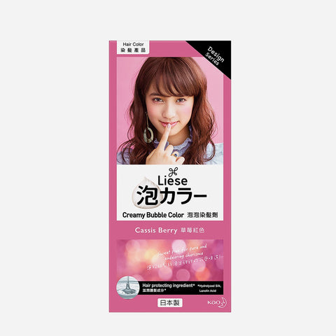 Liese Creamy Bubble Hair Color 100G – Cassis Berry
