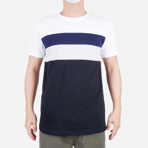 Men's Club Stripes R-Neck Tee