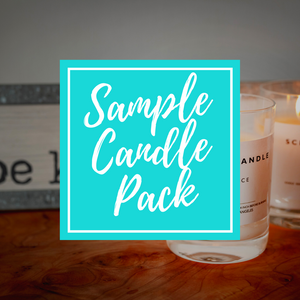10oz Tumbler Jars - Private Label Soy Candle Scent Sample Pack
