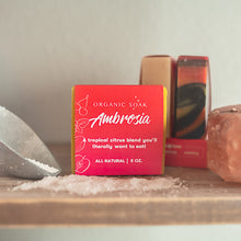 Load image into Gallery viewer, Ambrosia All Natural Bar Soap