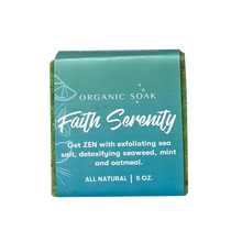 Load image into Gallery viewer, Faith and Serenity All Natural Bar Soap Scrub