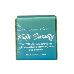 Faith and Serenity All Natural Bar Soap Scrub