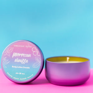 Moroccan Vanilla Body Oil Scented Candle
