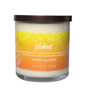 Naked Scented Soy Candle
