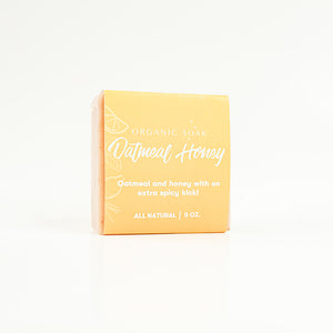 Oatmeal Honey All Natural Bar Soap