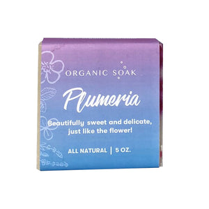 Plumeria All Natural Bar Soap