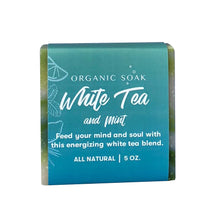 Load image into Gallery viewer, White Tea and Mint All Natural Bar Soap