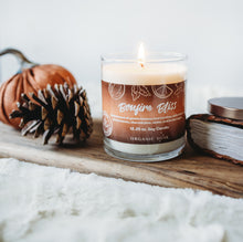 Load image into Gallery viewer, Bonfire Bliss Scented Soy Candle