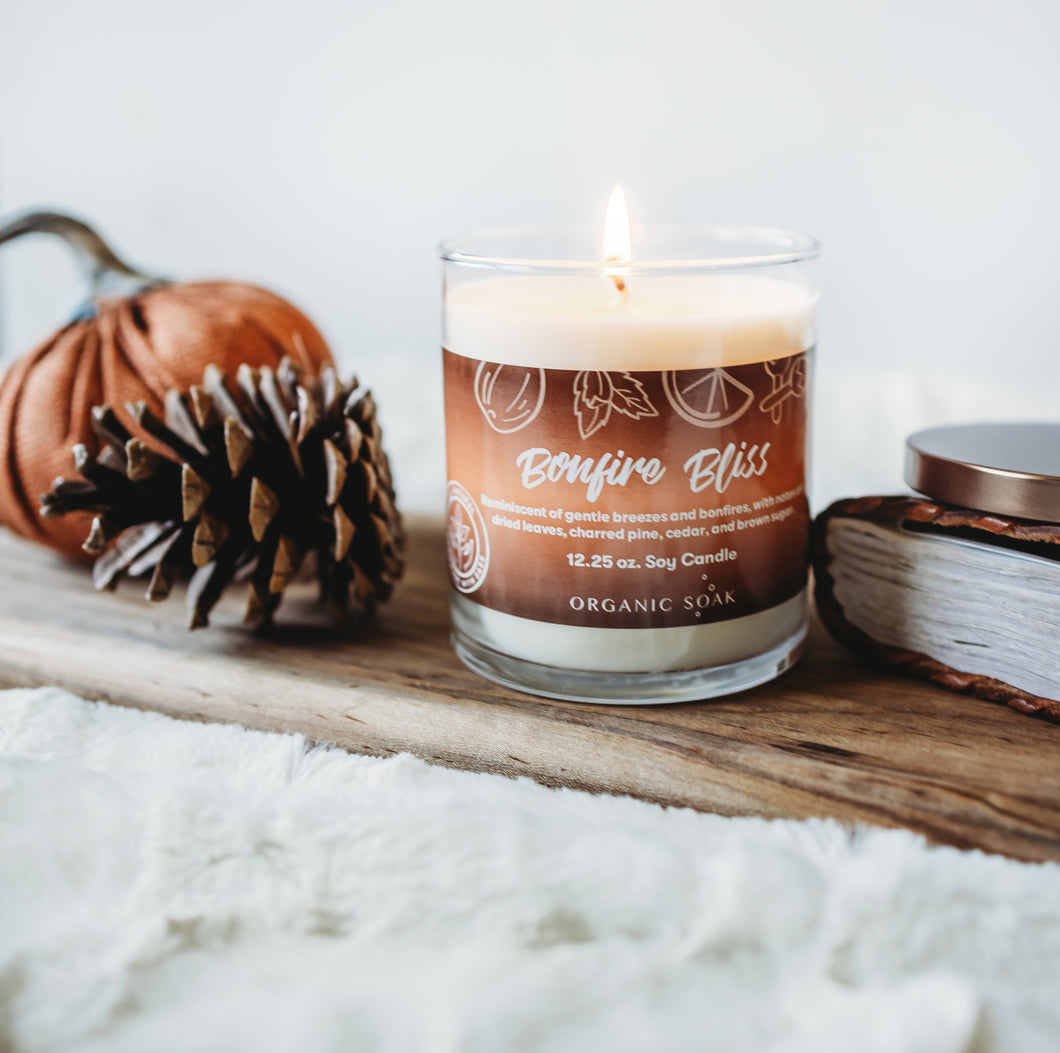 Bonfire Bliss Scented Soy Candle