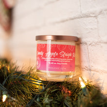 Load image into Gallery viewer, Candy Apple Sleigh Ride Scented Soy Candle