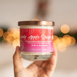 Candy Apple Sleigh Ride Scented Soy Candle