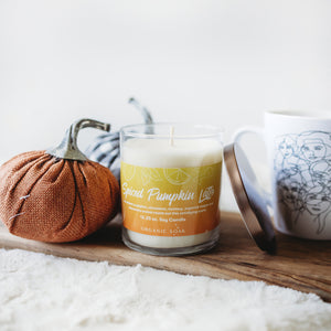 Spiced Pumpkin Latte Scented Soy Candle