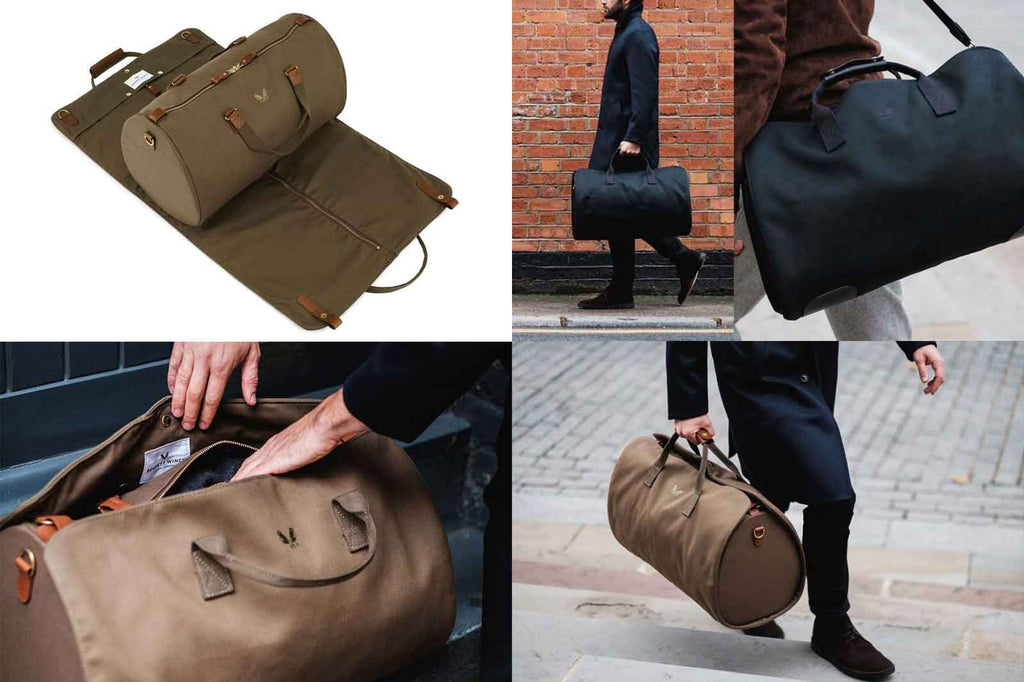 Collage of images for Holdall from Bennett Winch