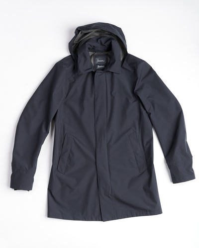 Herno Navy Paclite Goretex City Trenchcoat IM038UL - 11101-9201