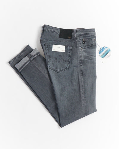 AG Jeans Dylan Avail Ash Grey 8 Year Washed Denim Jeans