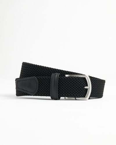 Anderson's Black Tubular Braided Stretch Belt