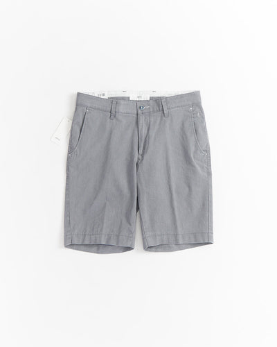 Brax Belleville Silver Grey Stretch Shorts 84-0427-07
