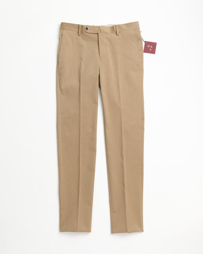 Echizenya Taupe Cotton Tech Moleskin Pants