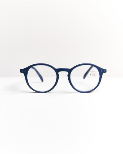 IZIPIZI Navy Blue Iconic Reading Glasses #D LMSDC03-NAVY BLUE