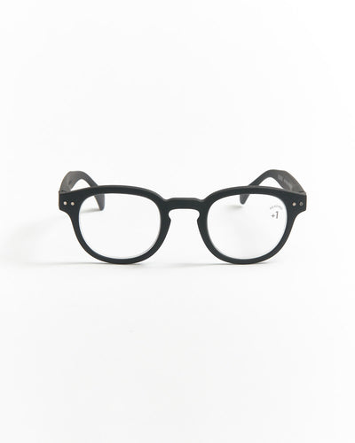 IZIPIZI Black Retro Reading Glasses #C