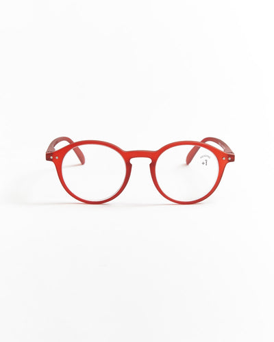 IZIPIZI Red Iconic Reading Glasses #D LMSDC04-RED