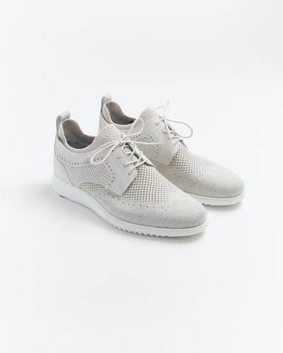 Lloyd 'Ancona' Off White Knit Casual Shoe 11033-12