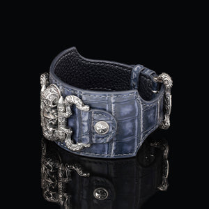 Inquisitor Cuff Bracelet (Alligator)