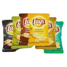 Lays Potato Chips and Cheesies
