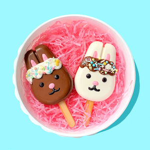 How to Make Bunnysicles: Bunny Cakesicle Tutorial