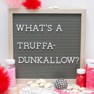 Truffadunkallow: Truffle Hot Chocolate Sticks