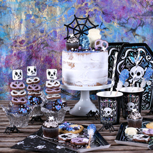Doomsday Halloween Party Dessert Table